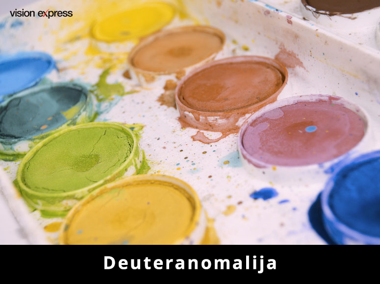 deuteranomalija