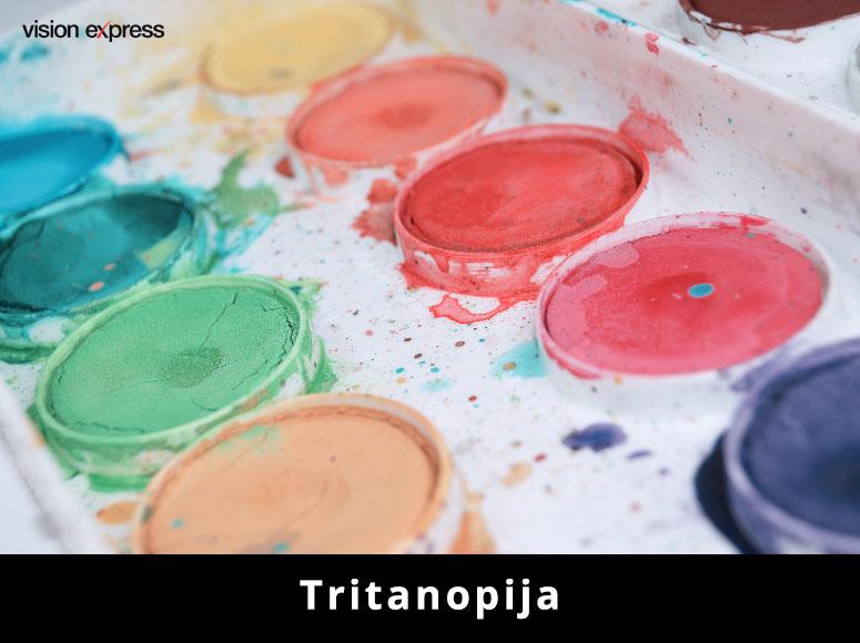 Tritanopija